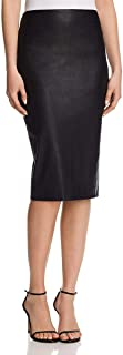 Best theory black leather skirt Reviews