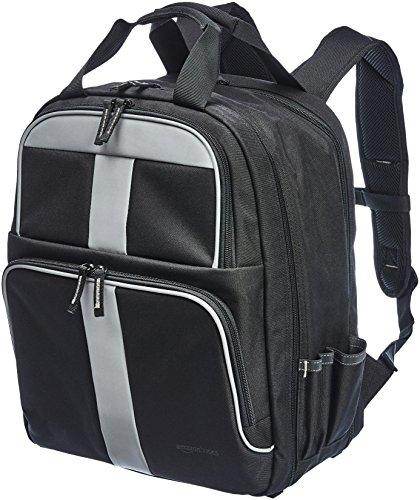 Amazon Basics - Mochila para herramientas, 50 bolsillos con 2 bolsillos delanteros