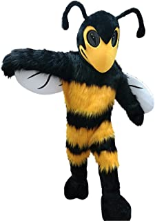 Hornet Bumble Bee Mascot Costume for Adult Men Women Animal Cartoon Costume
