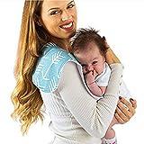 4 Pezzi Bavaglini Neonato, Bavaglino bandana Panni Del Rutto Cotone Pannolini Panno per allattamento al seno (ragazzo ragazza)