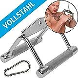 C.P. Sports Parallel Griff Vollstahl ca. 16cm Art.G21