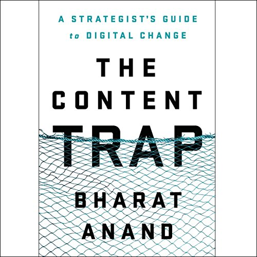 The Content Trap audiobook cover art