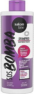 Salon Line Shampoo SOS Bombastico Vitaminas, Branco