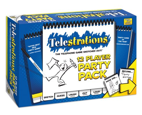 USAOPOLY Telestrations Party Pack 12...