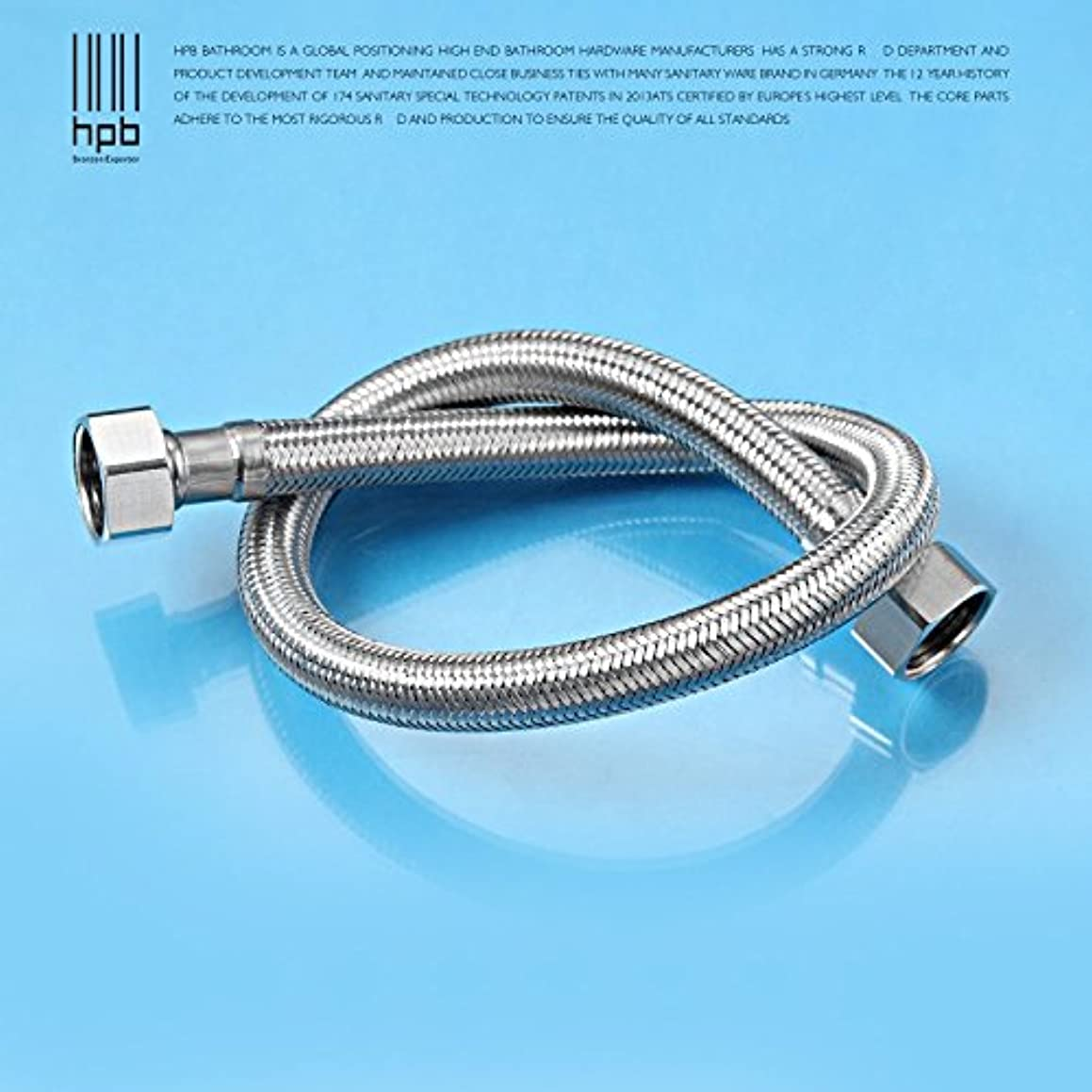 Copper toilet water heater hose hot and cold faucet water hot and cold water inlet pipe fittings , 80cm