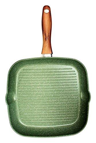 Carlo Giannini Bistecchiera Corpo in alluminio Mix di oli vegetali 28x28 cm Vegetalia