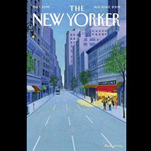 The New Yorker, August 10th & 17th, 2009: Part 1 (John Seabrook, Malcolm Gladwell, Judith Thurman) audiobook cover art