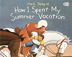 How I spent My Summer Vacation book review. Perfect for back to school.