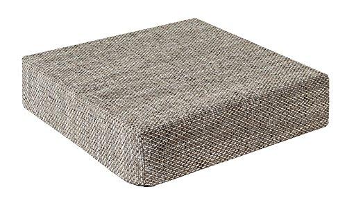 Trend Kissen Sitzblock Bodenkissen Stuhlkissen Sitzerhöhung orthopädisch 40x40x10 cm Hellgrau