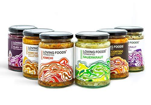 Loving Foods Orgánico Chucrut & Kimchi Mixto (500g)