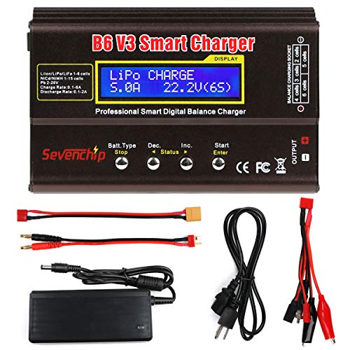 B6 V3 Lipo Battery Charger 80W 6A RC Battery Balance Discharger
