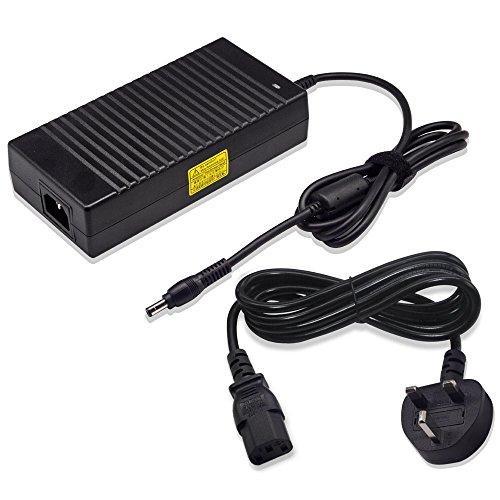 Delippo 19,5 V 11,8 A 230 W Laptop Ersatz AC Adapter Ladegerät für Asus ROG G752VS G752VS-XS74K G752VS-XB72K Gaming Laptop mit Netzteil Adapter Kabel