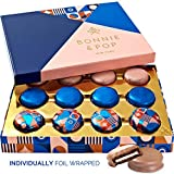 Cookie Gift Basket, Gourmet Food Box with Chocolate Covered Oreos in Beautiful Tray, 12 Count – BONNIE AND POP