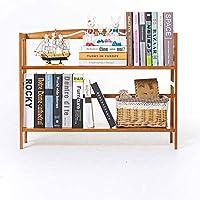 テーブルの上の家具装飾本棚ラックは、家庭やオフィス用の多層の素朴なインダストリアルスタイルの本棚木製収納キャビネットです(サイズ:X-小)