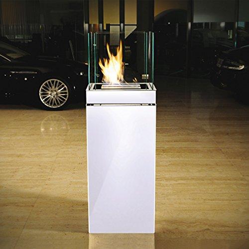 Radius Feuerstelle HIGH Flame weiß - (555 E)
