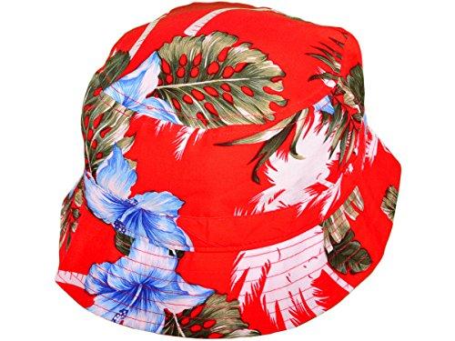 BOB KBETHOS - Motif Floral - Rouge