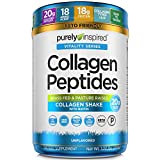 Collagen Powder | Purely Inspired Collagen Peptides Powder | Collagen Supplements for Women & Men | Collagen Protein Powder with Biotin | Paleo + Keto Certified | Unflavored, 1 lb (packaging may vary)