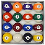 Homegames Spots and Stripes Pool Table Ball Set UK 2' Competition