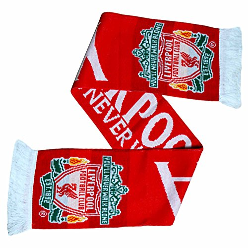 Liverpool FC Official YNWA Soccer Fans Scarf