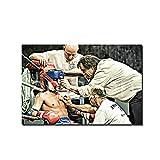 Art Boxing - Fotografía impresa en plexiglás, impresión fotográfica, boxeo tailandés, obra de arte, decoración de pared, cuadros modernos, cuadro impreso, foto decorativa