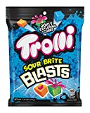 TROLLI SOUR BRITE BLASTS: Sweet gummy cubes of candy with a juicy exploding center in four weirdly awesome flavor combinations, Trolli Sour Brite Blasts pack the same sour-sweet kick as our classic sour worms. MIND-BLOWING FLAVORS: Are very berry gum...