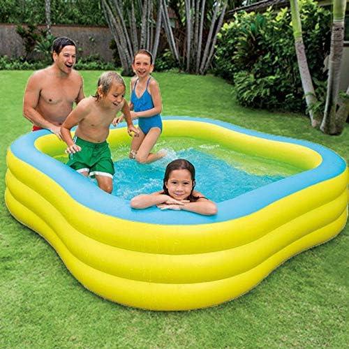 inflatable toys Sommer Neue Pflaumenf ige Planschbecken Aufblasbarer Pool, Ocean Ball Pool Faltbare Badewanne Angeln Sand Pool, Geeignet Für Den Au bereich - 229 × 229 × 5cm A