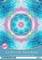 Lichtvolle Mandalas (Wandkalender 2022 DIN A4 hoch): Mehr Energie und Licht fuer jeden Tag (Monatskalender, 14 Seiten )