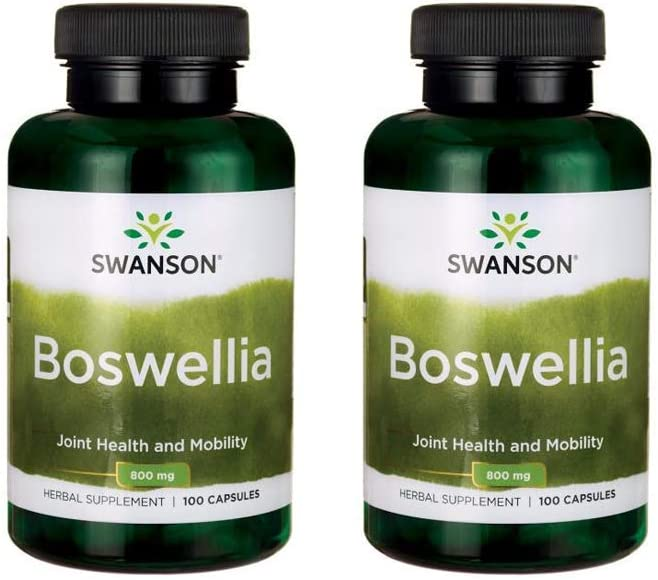 Swanson New arrival OFFicial store Boswellia 400 mg Caps 100 Pack 2