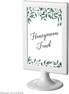 honeymoon fund sign