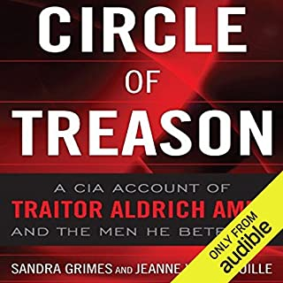 Circle of Treason audiobook cover art
