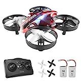 ATOYX Mini Drone, RC Drone 2.4G 4 Canales 6-Axis Gyro, Quadcopter con Modo sin Cabeza, Altitud Hold, Alarma de Batería...