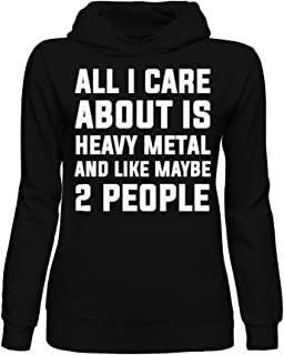 graphke All I Care About is Music and Like Maybe 2 People Unisex Crew Neck Sweatshirt