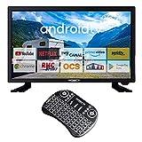 ANTARION TV Connect 22' - Televisor de camping y teclado ergonómico