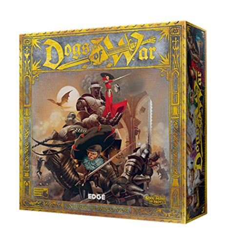 Dogs of War - Juego de mesa (Edge Entertainment EDGDO01) , color/modelo surtido
