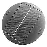 Bomba De Fuente Solar - Bomba Solar para Estanque 6V 1W, Bomba De Fuente Flotante Incorporada con Motor Sin Escobillas con Energía Solar para Baño De Pájaros Decoración De Jardín Acuario Pecera