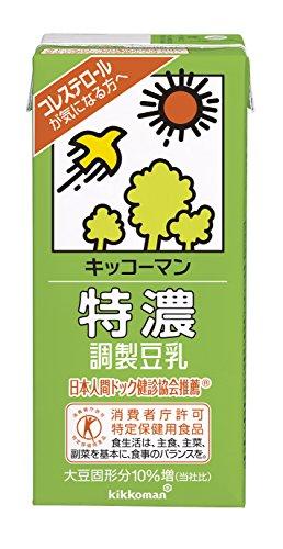 キッコーマン飲料特濃調製豆乳1L×6本