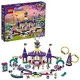 LEGO 41685 Friends Mundo de Magia: Montaña Rusa, Parque de Atracciones de Juguete para Niños y...