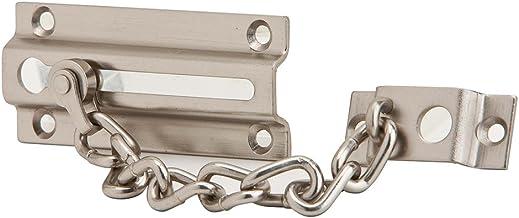 Ives by Schlage 481F15 Protetor de porta de corrente, níquel acetinado