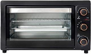 Horno tostador de sobremesa compacto 26L Calentamiento independiente de los tubos superior e inferior Posición de horneado multicapa Temporización de 60 minutos Disipación de calor de múltiples lado