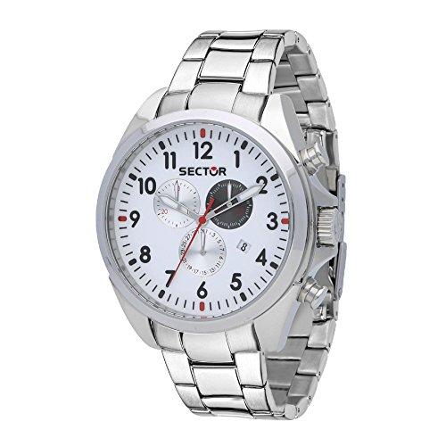 Sector Reloj Cronógrafo para Hombre de Cuarzo con Correa en Acero Inoxidable R3273690010