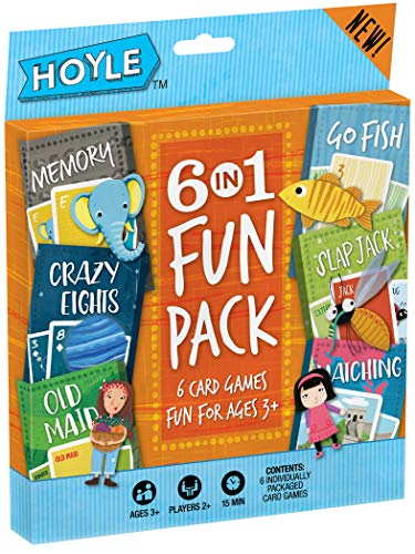 Bicycle Classic Kid's Card Games (6-Pack)