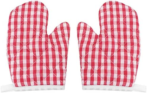 Cabilock Kids Oven Mitts for Children Play Kitchen Heat Resistant Kitchen Mitts for Kids Toddler product image