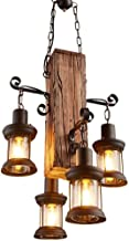 ZBHW Vintage Pendant Light Traditional Style Chandelier Lighting Lamps for Living Room Kitchen Office Bedroom Dining Room ...