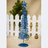 YOUNICER Mini árbol de Navidad Luminoso lámpara de círculo Creativo de Navidad Adornos de...