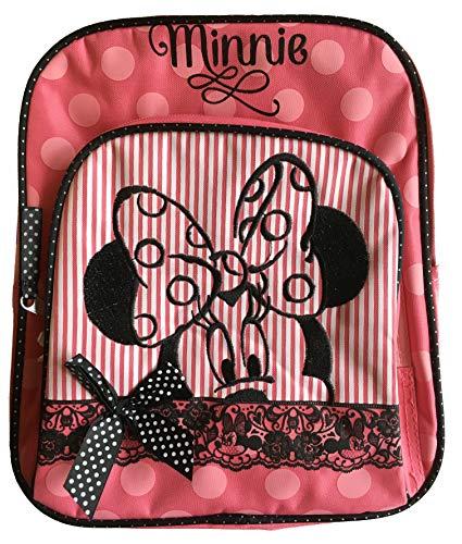 Sambro Minnie Mouse Nursery Backpack with Polka Dot Ribbon Bow (Medium)