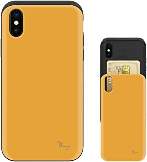 iPhone XR ケース iPhoneXR ケース TPU バンパー Bumper 耐衝撃 カード入れ マット加工 ワイヤレス充電対応 スマホケース 擦り傷防止 保護フィルム Breeze 3DP 正規品 [IXRJP216BN]