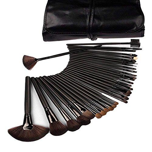 32-teiliges Make-up-Pinsel-Set für Grundierung, Puder, Lidschatten, Puder, Rouge, Lippenstift,...