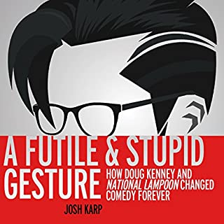 A Futile and Stupid Gesture cover art