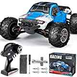 INGQU RC Car 1:12 Remote Control Car High Speed RC Truck Remote Control Truck Off Road Monster RTR All Terrain Toys for Kids and Adults (Blue)