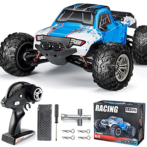 INGQU RC Car 1:12 Remote Control Car High Speed RC Truck Remote Control Truck Off Road Monster RTR All Terrain...